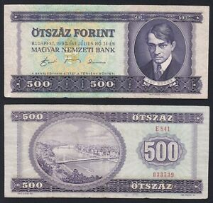 Ungheria 500 forint 1990 BB/VF  B-04