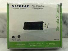 BRAND NEW SEALED NETGEAR N150 Wireless USB Adapter WNA1100 - NIB