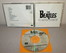 BEATLES Past Masters Volume Two 1988 CD Ringo Starr George Harrison John Lennon
