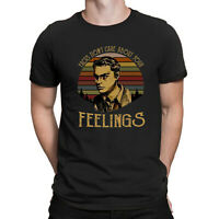 Shapiro Facts Don't Care about Your Feelings Vintage Men Black Cotton T Shirt