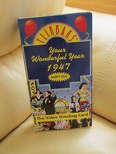 FLIKBAKS: Your Wonderful Year - 1947 (VHS, 1990) - Video Greeting Card
