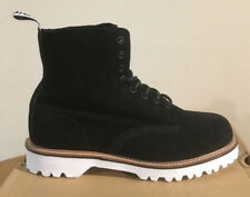DR. Martens Pascal 11 Black Soft Buck Stivali Taglia UK 6.5