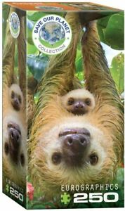 EuroGraphics Sloths (Save Our Planet) 250-Piece Puzzle
