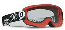 Scott Kids Childrens Goggle Pewee Junior Red Motorcycle MX Goggles - BC34699 T
