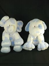 Kids Preferred Dog & Elephant Blue & White Polka Dot Certified Asthma Friendly