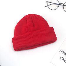 Unisex Men&Women Beanie Hat Warm Ribbed Winter Turn Ski Fisherman Docker Hat