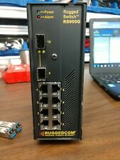 Ruggedcom Rugged Industrial Network Switch Rs900G Rs900G-24-D-2Sfp Clean Unit