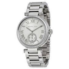 Michael Kors MK5866 Skylar Silver White Stainless Steel Women's 42mm Watch