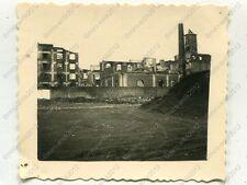 Photo, Wehrmacht, overlooking the ruined mill, Kalisz, DT. runs, Poland, B
