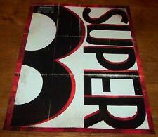 SUPER 8 SUPER8 PROMO POSTER JJ ABRAMS Speilberg NEW