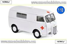 Peugeot D4B de 1963 Ambulance NOREV - NO 184699 - Echelle 1/18