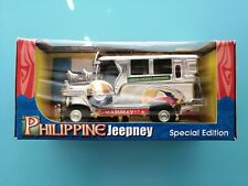 Rare NEW Philippine Jeepney Special Edition Die Cast Metal Pull Back Action Car