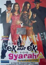 EK AUR EK GYARAH - NEW ORIGINAL EROS BOLLYWOOD DVD- Sunjay Dutt, Govinda.
