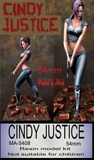 Milosh Approved, Cindy Justice, 54mm Resin Figure Kit, New kit in box Unpainted