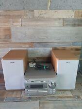 Sony MD313 CD MiniDisc Tape Recorder Player Stereo Hifi Audio Bookshelf System