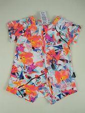 Bonds Baby Short Sleeve Zip Wondersuit size 000 Multi Colour Print