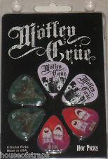 Motley Crue Guitar Picks Officially Licensed Product