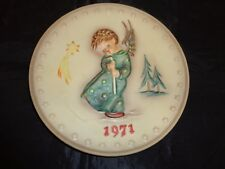 Goebel Hummel Annual Plate Heavenly Angel 1971