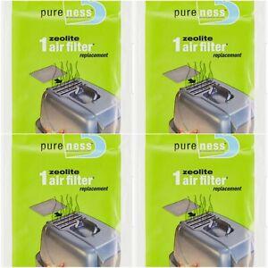 Van Ness Pureness Zeolite Cat Air Filter Replacement Lasts 3 Months 4-pack