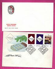 LATVIA LETLAND LOT OF 11 FDC 1992-1995s 928