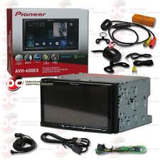"Pioneer Avh-600Ex 7"" 2Din Touchscreen Dvd Bluetooth Free 170° Rear View Camera"