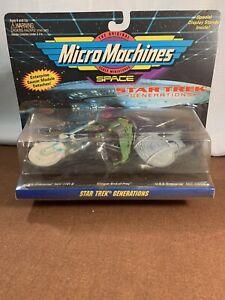STAR TREK GENERATIONS MICRO MACHINES DIE-CAST MINIATURES (Galoob, 1994) NEW