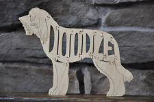 New GoldenDoodle Golden LabraDoodle Dog Wooden Doodle Toy Puzzle Figurine