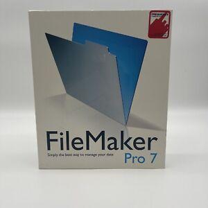 FileMaker PRO 7 DVD FULL installer version with original license key