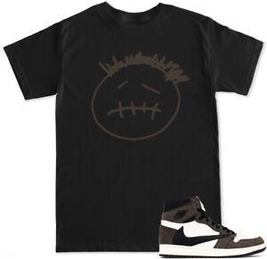 Travis Retro 1 T Shirt to match with Air Jordan 1 Retro 1 shoes