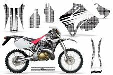 Honda Graphic Kit AMR Racing Bike Decal CRM  250AR Decal MX Part ALL PLAID SILVR