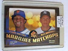 2008 SP Authentic Marquee Matchups #MM49 Pedro Martinez/Alex Rodriguez
