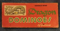Vintage Set of Double Nine Dragon Dominoes By Hulsam