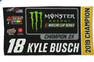 Kyle Busch #18 2019 Champions Celebration Towel