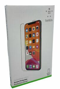 Genuine Belkin InvisiGlass Ultra Screen Protector For Apple iPhone X/XS/11 Pro