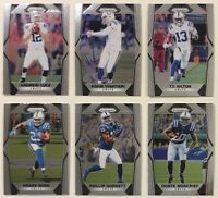 2017 Panini Prizm Silver Indianapolis Colts Football Card Lot of 6 Andrew Luck