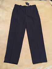 """Mens C&A Vintage Trousers Old New Stock With Tags 36"""" Waist 33.5"""" Leg Bi-Stretch"""