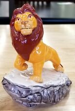 Vintage Walt Disney The Lion King Mufasa on Pride Rock Figurine