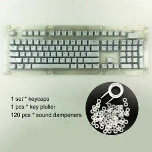 Russian Keycaps for Mechanical Keyboard Compatible MX Switches DIY Replacement