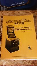 Golden Tee Live Dedicated Cabinet Arcade Instruction User Installation Manual