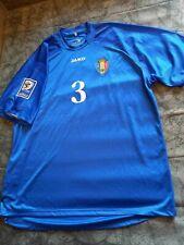 MOLDOVA NATIONAL,WORLD CUP QUALIFICATION GAME,MATCH WORN FOOTBALL SHIRT,FIFA
