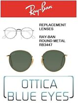 Lenti di Ricambio RAYBAN ROUND METAL RB 3447 Replacement Lenses Ray Ban G15 verd