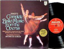 PHILIPS Donizetti DE ALMEIDA Complete Music from the Ballets 9500 673