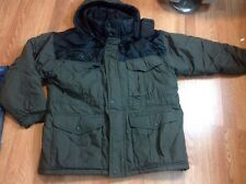 BEAR FORCE Mens XL winter heavy cotton/poly full zip coat jacket
