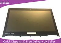 Lenovo Yoga 3 14 500-14ISK Touch Screen Digitizer Assembly + Frame B140HAN01.1