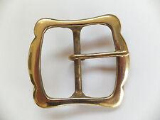 "[ BARGIN BIN ] Solid Brass  1-3/4""   45 mm Belt Buckle Leather craft 513"
