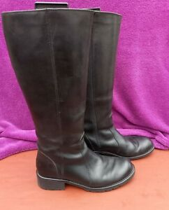 Clarks Leather Knee High  boots 7