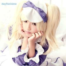 kuroshitsuji Black Butler II 2 Alois Trancy Girl/Female Pale Blonde Cosplay wig