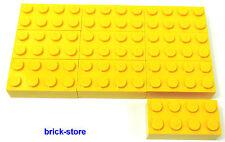 LEGO 10-pc / jaune 2x4 BLOCS DE BASE/briques/pièces de construction
