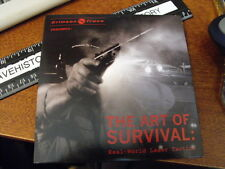 Crimson Trace Presents The Art Of Survival, Real World Laser Tactics Dvd, unuse