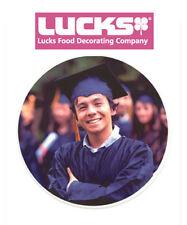 "Lucks Print-Ons Sheet 7.5"" Rounds Edible Paper - 43258"